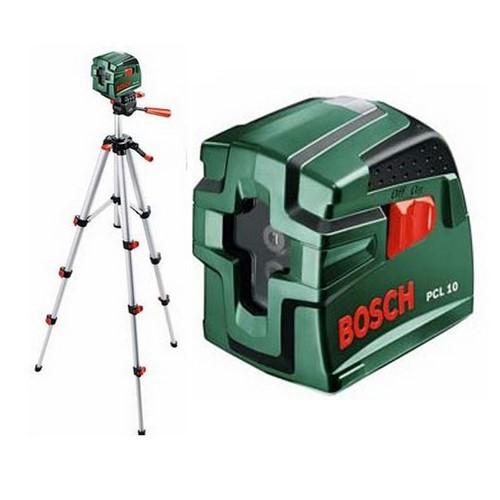 Нивелир лазерный уровень Bosch PCL 10 SET + штатив