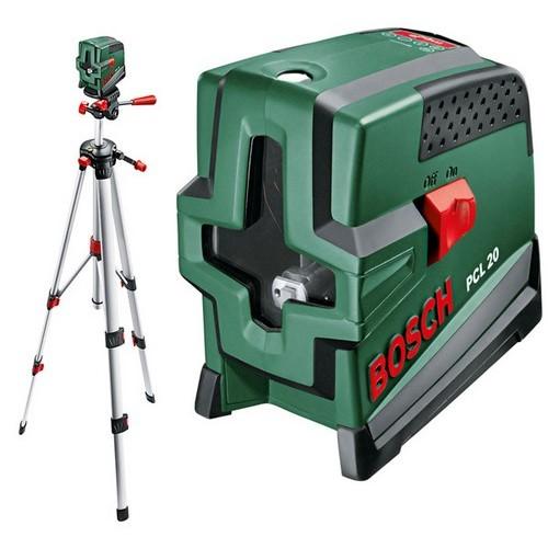 Нивелир лазерный уровень Bosch PCL 20 SET + штатив