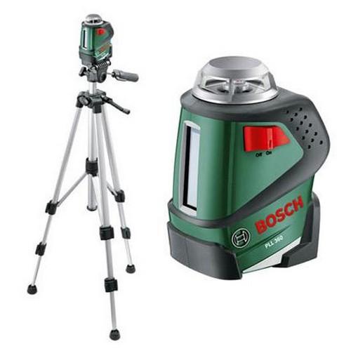 Нивелир лазерный уровень Bosch PLL 360 SET + штатив