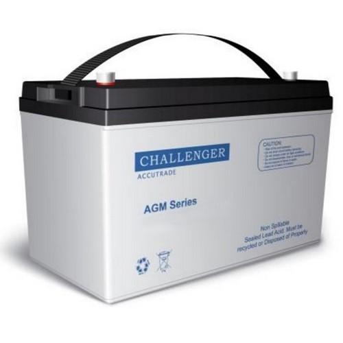 Аккумуляторная батарея Challenger A12-120 (12 В и 120 Ач, тип AGM)