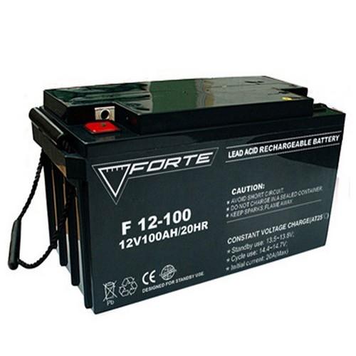 Forte F12-100 AGM (12В 100 Ач) Аккумуляторная батарея