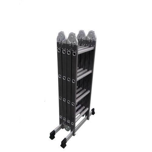 Werk LC5412B Лестница шарнирная комбинированная (металл+алюминий)