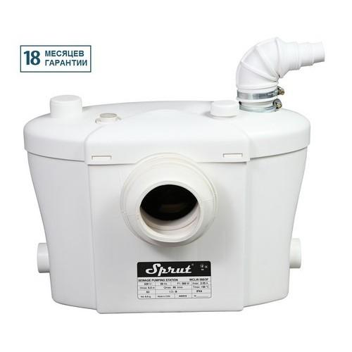 Установка канализационная Sprut WCLIFT 560/3F