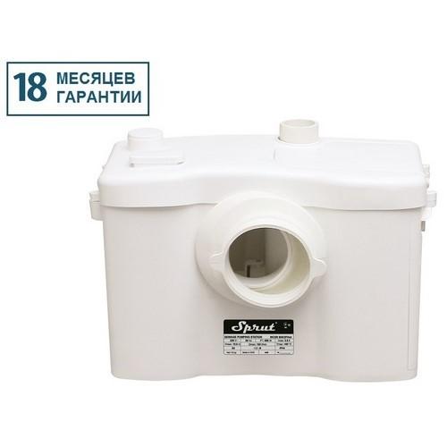 Установка канализационная для горячей воды Sprut WCLift 600/2FHot